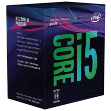 Intel i5-8600, 3,10GHz, 9MB, LGA1151