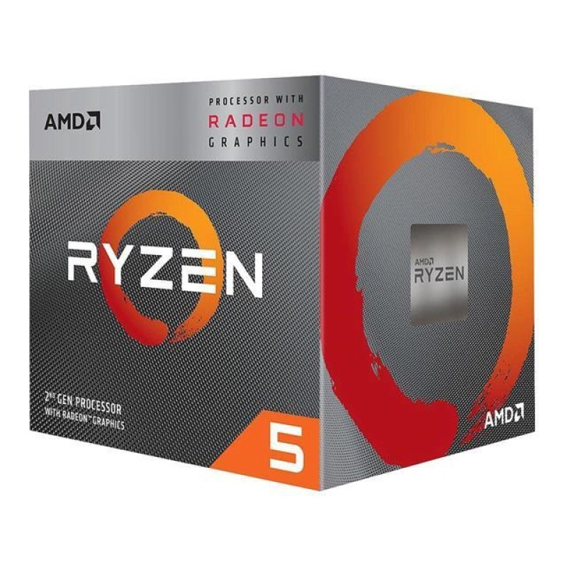AMD AM4 Ryzen 5 3400G, 3.7GHz BOX