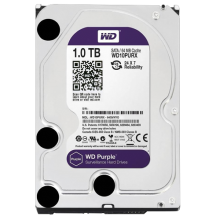 "WD 1TB SATA III, 64MB, 3.5"", IntelliPower, Purple - WD10PURZ"