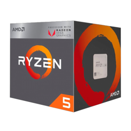 AMD Ryzen 5 2400G 3.6 GHz (3.9 GHz) AMD® AM4