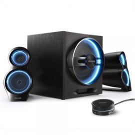 Microlab T10 Gaming 2.1 zvučnici, 56W Bluetooth crna