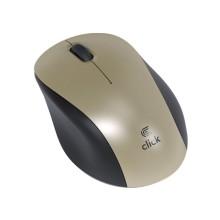 CLICK bežični miš MW2WGL - zlatni