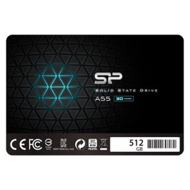 """SILICON POWER SSD 512GB, 2.5"""", SATA III, Ace A55 - SP512GBSS3A55S25"""